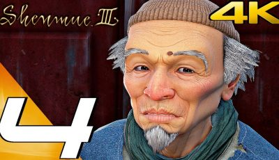 SHENMUE 3 – Gameplay Walkthrough Part 4 – Mr.Sun Lessons (Full Game) 4K 60FPS
