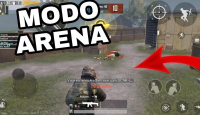 PUBG MOBILE NO MODO ARENA!!