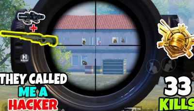They Called Me A HACKER Because Of My Sniping in PUBG Mobile • (33 KILLS) • PUBGM (HINDI)