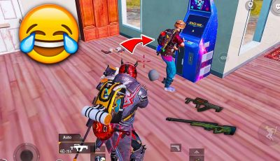 Caught him Playing MARIO *FUNNY* and 0 Recoil Groza Spray in PUBG Mobile