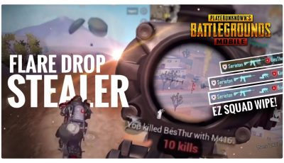 FLARE DROP PRO STEALER – PUBG MOBILE