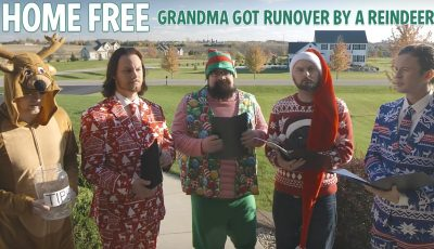 Grandma Got Runover By A Reindeer – Home Free