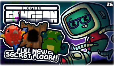 THE JUNGLE: NEW MODDED FLOOR!! (FINISHED)   Let's Play Enter the Gungeon: Mod the Gungeon   Part 26