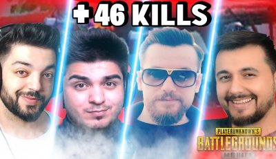 4 YOUTUBER 1 TAKIMDA OLURSA +46 KILLS ft APOLLO ft MEZARCI PUBG Mobile