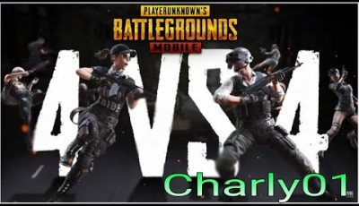 M24 full en Eliminación por equipos | 4 vs 4 | Pubg mobile | Playerunknown's Battlegrounds/ Charly01