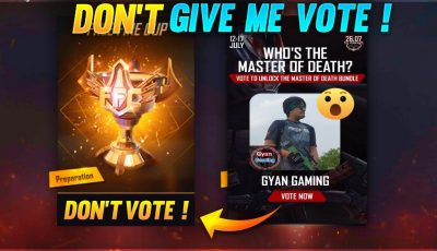 Free Fire Live | Don't Give Me Vote ! Plz