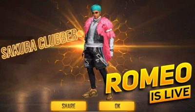 Free Fire Live Romeo Is Live Mast Gameplay AO VIVO