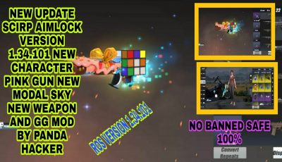 🔥NEW UPDATE AIMLOCK NEW CHARACTER WEAPON MODAL SKY GG MOD BY PANDA HACKER VERSION 1.34.101 🔥]