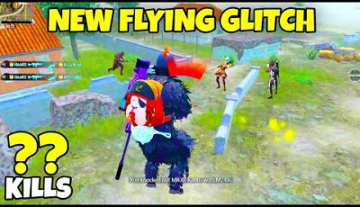 🔥 New *FLYING GLITCH* In PUBG Mobile – MRX