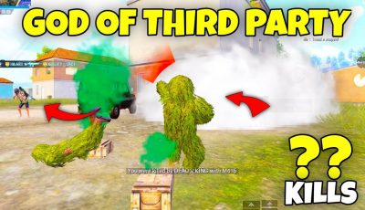 This Noob Looking Player is GOD of Third Party in PUBG Mobile ERANGEL 2.0 – MRX