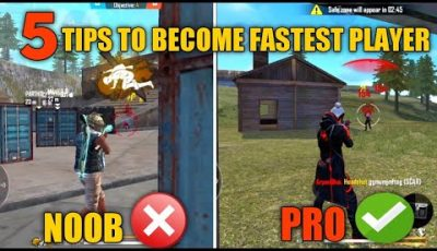 HOW TO BE A FASTEST PLAYER IN FREE FIRE | FREE FIRE TIPS AND TRICKS