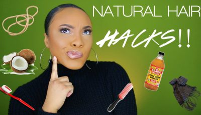 NATURAL HAIR HACKS & TIPS FOR HAIR GROWTH AND LENGTH RETENTION!! | AlyraTV