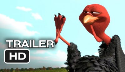 Free Birds Official Trailer #1 (2013) – Owen Wilson Animated Movie HD