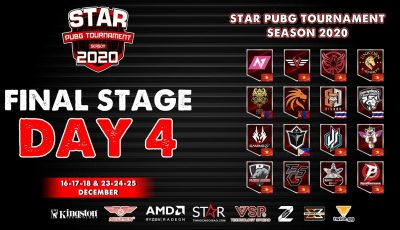 STAR PUBG TOURNAMENT – Season 2020: FINAL STAGE – DAY 4