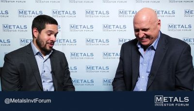 Greg McCoach & Chris Taylor (CEO of Great Bear Resources Ltd.) at The Metals Investor Forum