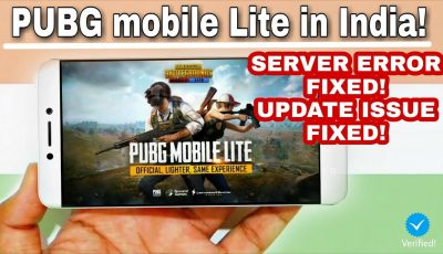 PUBG mobile Lite in India!   Server Error Fix & Updated   All Android phones   250mb Only!😮