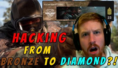 How to Go from a Bronze to Diamond in Warzone (Hint: Use Hacks)